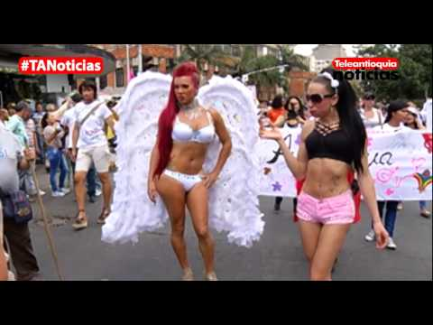 Con música y colores se celebró en Medellín la marcha del Día Internacional del Orgullo Gay