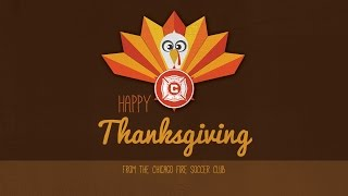 Happy Thanksgiving From The Chicago Fire