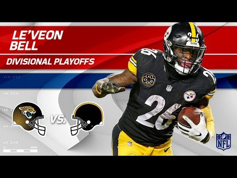 Le'Veon Bell's 155 Total Yards & 2 TDs! | Jaguars vs. Steelers | Divisional Round Player HLs