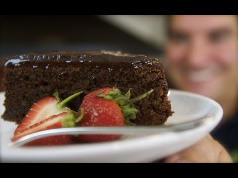 Video Chocolate Almond Meringue Cake: Flourless Gluten-free treat | Totally Sacha