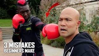 3 Mistakes Beginners Make In Kickboxing | Kick Boxing   Self Defence New Series