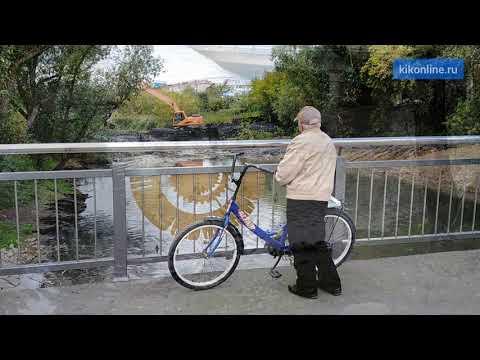 В ЦПКиО расчищают старицу Битевки