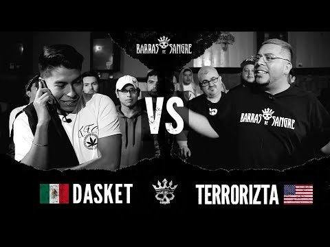 Barras De Sangre: Dasket 🇲🇽 vs El Terrorizta 🇺🇸 [ Batallas Escritas ]