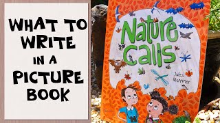 WHAT TO WRITE IN A PICTURE BOOK