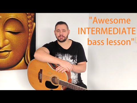 An awesome INTERMEDIATE Bass Lesson