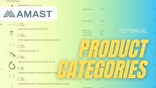 Product Categories Tutorial
