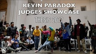 Kevin Paradox | Judges Feature Showcase | #Thesis2017 | #SXSTV