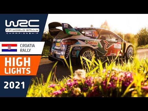 WRC 2021 第3戦ラリー・クロアチア SS13-16ハイライト動画