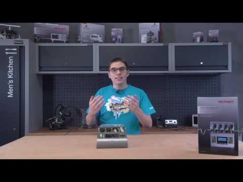 Voltcraft Charge Manager 2016 - Profi Akkuladegerät für Rundzellen | Conrad