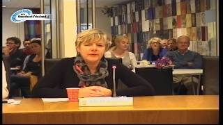 Amy Hanemaaijer kinderburgemeester in Dongeradeel