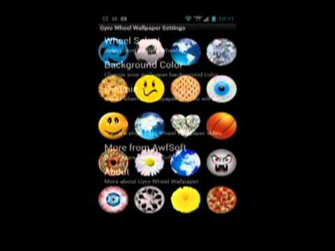 Video of Gyro Wheel Live Wallpaper
