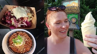 Eating Vegan At Disney's Food & Wine Festival 2018! | We Tried All 8 Menu Items!
