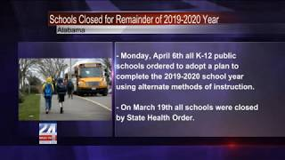 Alabama Public Schools Closed for Remainder of 2019-2020 School Year