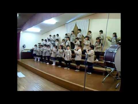 2016 くりの木幼稚園音楽会 年長 花のワルツ