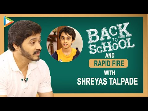 Shreyas Talpade REVISITS Pleasant School Memories | Back To School | Pranks | Favourite Food