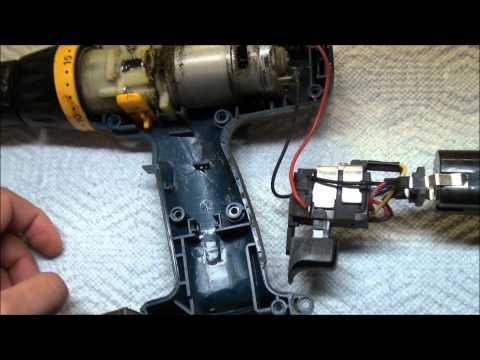 "Ryobi Cordless Drill Repair ""Attempt"" .RECALL Model HP1802M"