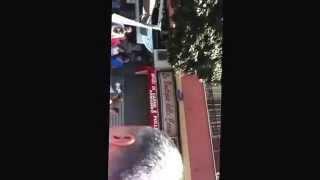 preview picture of video 'Flash mob San Giorgio a Cremano.   D'Aprea Parrucchieri via San Martino'