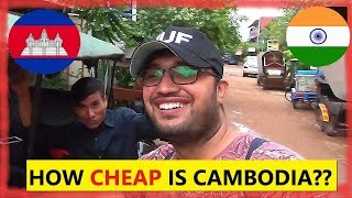 How CHEAP is Cambodia for Indians??