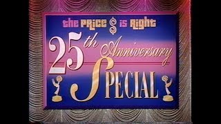 The Price Is Right 25th Anniversary Special:  August 23, 1996  (STUDIO MASTER!!!)
