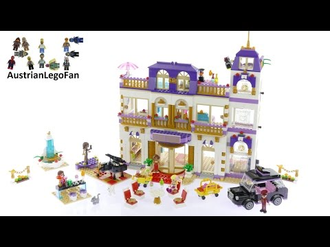 Vidéo LEGO Friends 41101 : Le grand hôtel de Heartlake City
