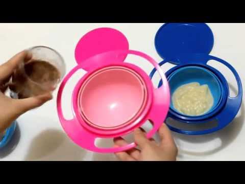 Toy Universal 360 Rotate Spill-Proof Bowl