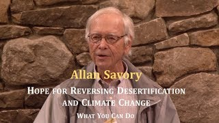 Allan Savory: Hope for Reversing Desertification and Climate Change - What You Can Do