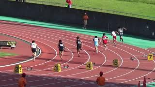 静岡県中学選抜陸上競技大会男子200mA決勝