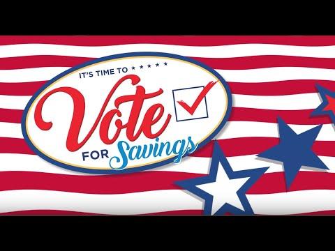 Vote for Savings