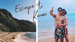 Escape To Kauai Part 2   Beach Time   Hawaii Travel Vlog   Gay Couple   ENG+JPN