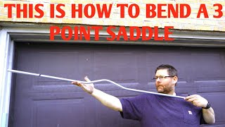 How To Bend A 3 Point Saddle Full Instructions