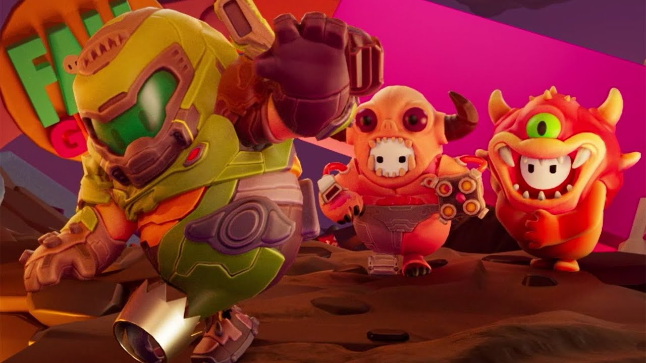 Fall Guys: Doom Costumes - January 12