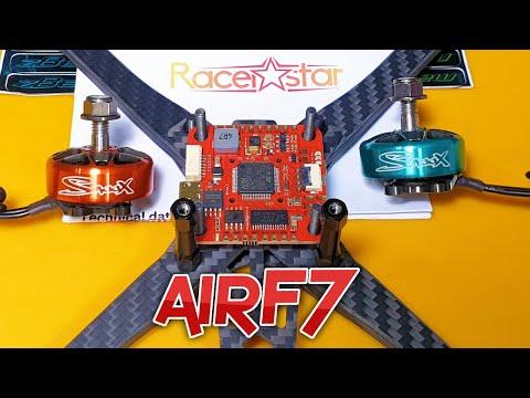 ✅ Полетный Контроллер Racerstar & Airbot airF7 F722 RealPit Dual Bec!