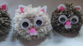 how-to-make-a-pom-pom-cat-diy-cat-toys