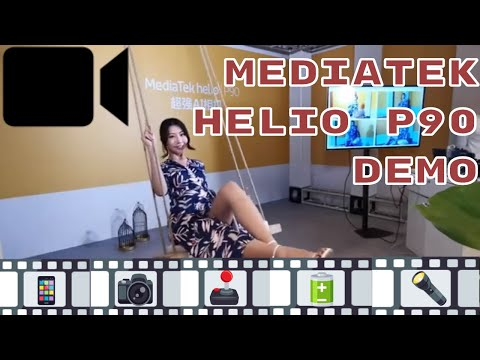 MediaTek Helio P90: Demo