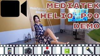 MediaTek Helio P90: Demo