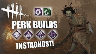 INSTAGHOST! | Dead By Daylight THE SPIRIT PERK BUILDS