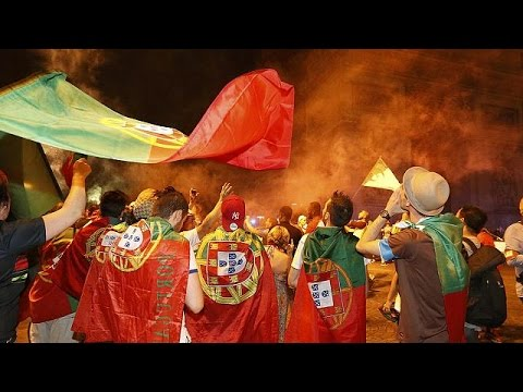 Euro 2016: Πανηγυρισμοί Πορτογάλων για το θρίαμβο- Σοκαρισμένοι οι Γάλλοι για την ήττα