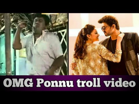 Download Sarkar omg ponnu song troll video தாரை தப்பட்டை HD Mp4 3GP Video and MP3
