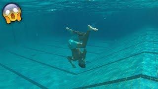 سوينا حركات ممنوعه في المسبح وانطردنا منه !!!