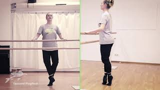 Ballett: Aleksandras Stange 04 – Jetés