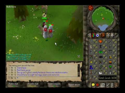 RuneScape :: 3 Hit U - Unlimited Tree Spirits