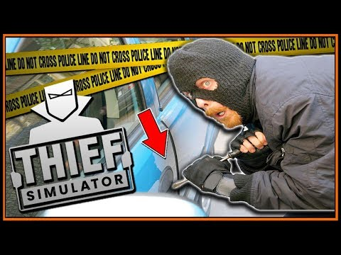 How To Hotwire A Car For The CHOP SHOP - Thief Simulator #6