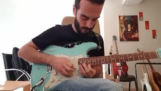 "Ali Özen - ""Guthrie Govan _ Regret #9 Guitar Solo Cover"""