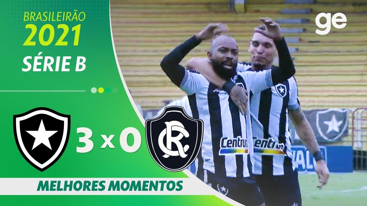 VÍDEO: Gols e melhores momentos da vitória do Botafogo sobre o Remo