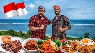 تحدي اكل الشوارع في بالي 🇮🇩 Street Food In Bali