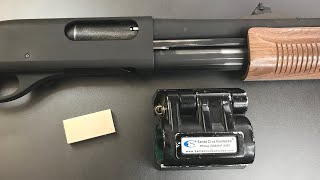 [652] Magnet Opens Police Car Shotgun Lock (Santa Cruz Gunlocks SC1)