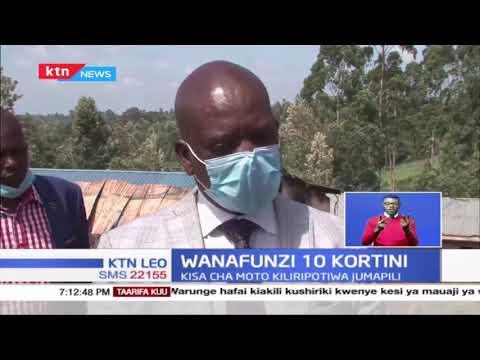 Wanafunzi 10 wanaodaiwa kuteketeza shule yao wafikishwa mahakamani Embu