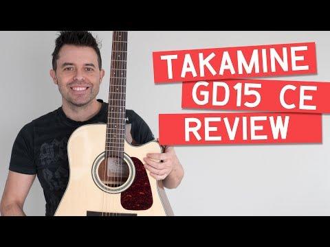 ¿La mejor guitarra por debajo de 400€? Review TAKAMINE GC15CE | Guitarraviva & Muziker