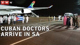 A delegation of more than 200 health professionals from Cuba arrived in South Africa on Monday morning to bolster support in the fight against COVID-19.  The group landed  on a chartered South African Airways Airbus A340 at the Waterkloof Airforce Base.
