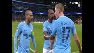 Kevin De Bruyne loses his cool with David Silva and Fernandinho!